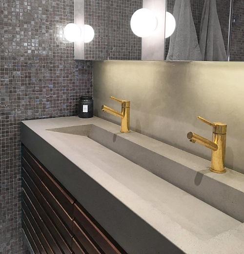 Kabataş Corian Banyo Tezgahı
