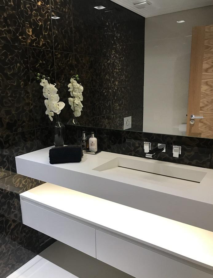 Arnavutköy Corian Banyo Tezgahı
